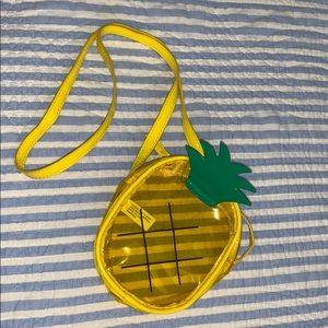Forever 21 Plastic Pineapple Purse